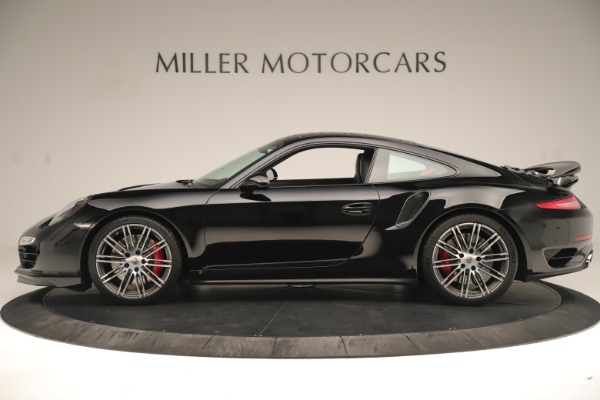 Used 2014 Porsche 911 Turbo for sale Sold at Bugatti of Greenwich in Greenwich CT 06830 3