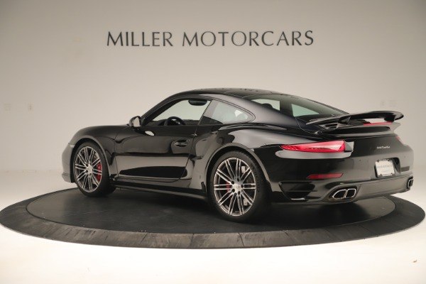 Used 2014 Porsche 911 Turbo for sale Sold at Bugatti of Greenwich in Greenwich CT 06830 4