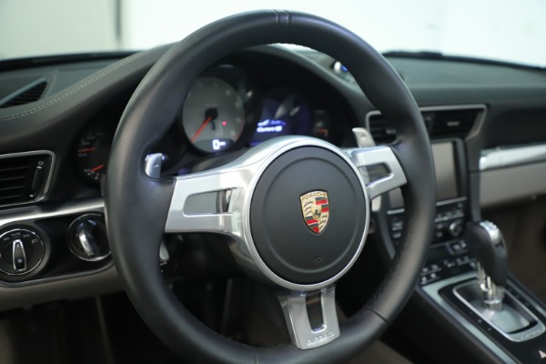 Used 2015 Porsche 911 Carrera 4S for sale Sold at Bugatti of Greenwich in Greenwich CT 06830 28