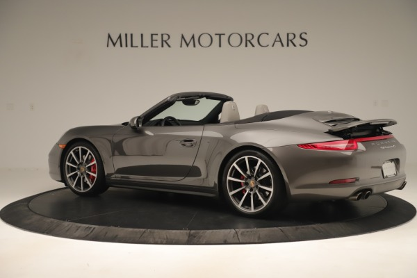 Used 2015 Porsche 911 Carrera 4S for sale Sold at Bugatti of Greenwich in Greenwich CT 06830 4