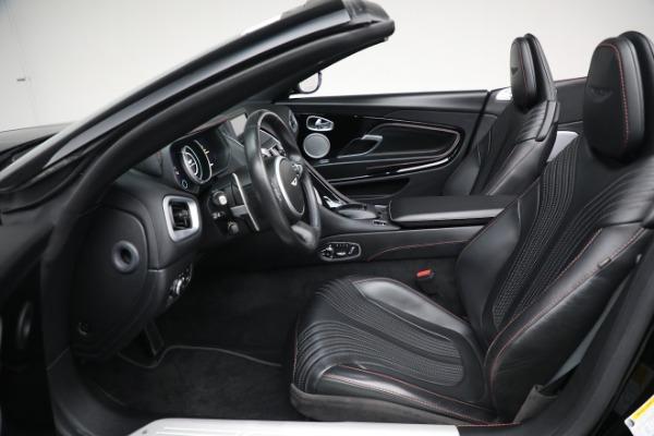 New 2020 Aston Martin DB11 Convertible for sale $250,446 at Bugatti of Greenwich in Greenwich CT 06830 20