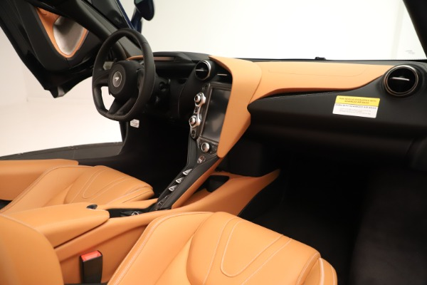 New 2020 McLaren 720S Spider Convertible for sale $372,250 at Bugatti of Greenwich in Greenwich CT 06830 15
