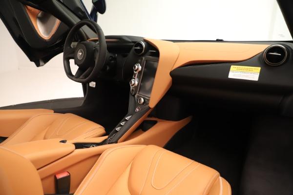 New 2020 McLaren 720S Spider for sale $372,250 at Bugatti of Greenwich in Greenwich CT 06830 15