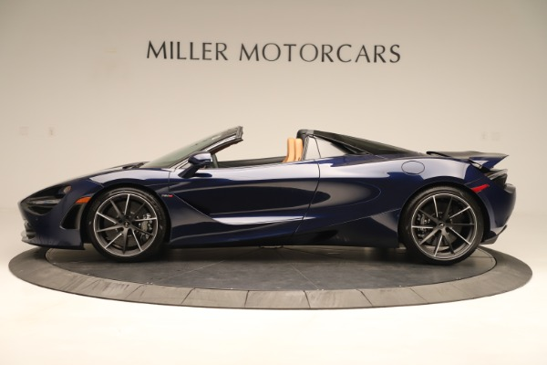 New 2020 McLaren 720S Spider Convertible for sale $372,250 at Bugatti of Greenwich in Greenwich CT 06830 2