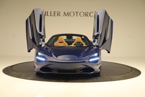 New 2020 McLaren 720S Spider Convertible for sale $372,250 at Bugatti of Greenwich in Greenwich CT 06830 27