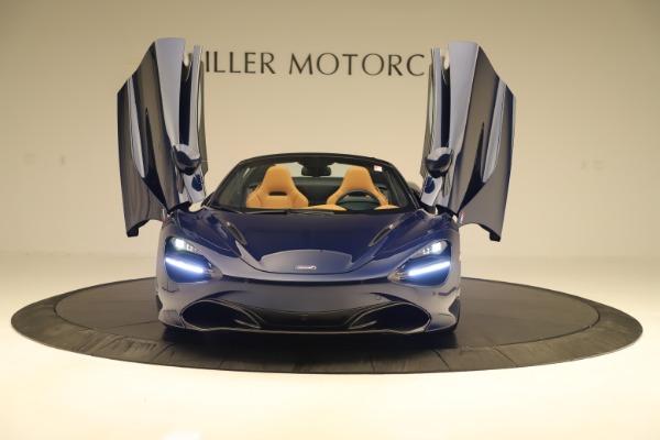 New 2020 McLaren 720S Spider Luxury for sale $372,250 at Bugatti of Greenwich in Greenwich CT 06830 27