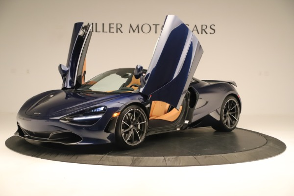 New 2020 McLaren 720S Spider Convertible for sale $372,250 at Bugatti of Greenwich in Greenwich CT 06830 28