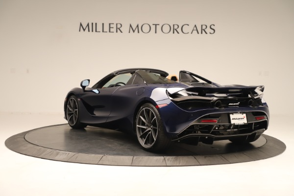 New 2020 McLaren 720S Spider Convertible for sale $372,250 at Bugatti of Greenwich in Greenwich CT 06830 3
