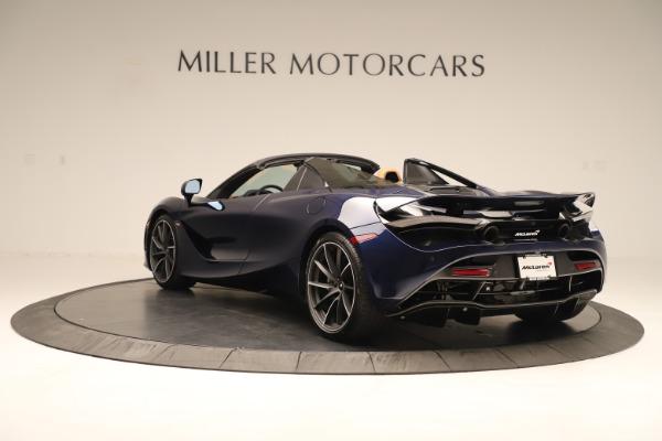 New 2020 McLaren 720S Spider for sale $372,250 at Bugatti of Greenwich in Greenwich CT 06830 3