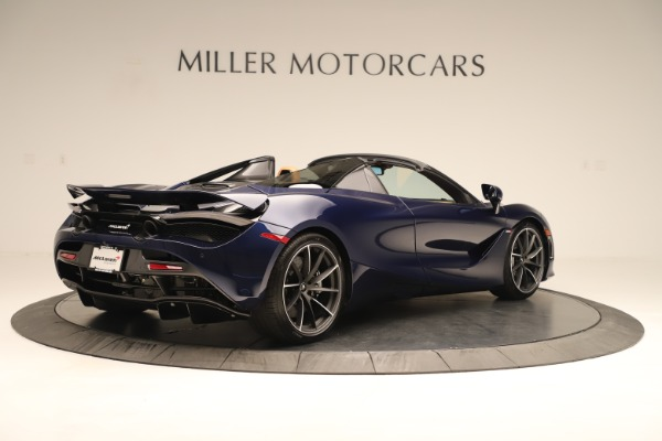 New 2020 McLaren 720S Spider Convertible for sale $372,250 at Bugatti of Greenwich in Greenwich CT 06830 4