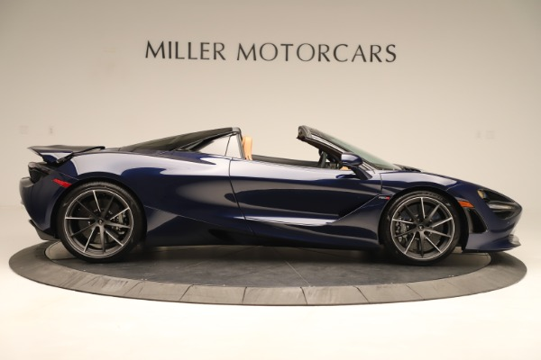 New 2020 McLaren 720S Spider Convertible for sale $372,250 at Bugatti of Greenwich in Greenwich CT 06830 5
