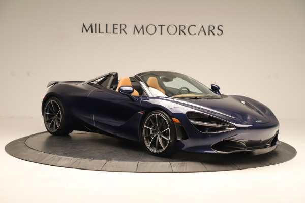 New 2020 McLaren 720S Spider Convertible for sale $372,250 at Bugatti of Greenwich in Greenwich CT 06830 6