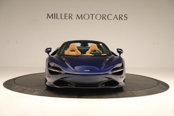 New 2020 McLaren 720S Spider Convertible for sale $372,250 at Bugatti of Greenwich in Greenwich CT 06830 7