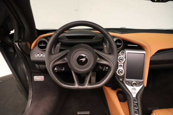 New 2020 McLaren 720S Spider Convertible for sale $372,250 at Bugatti of Greenwich in Greenwich CT 06830 9