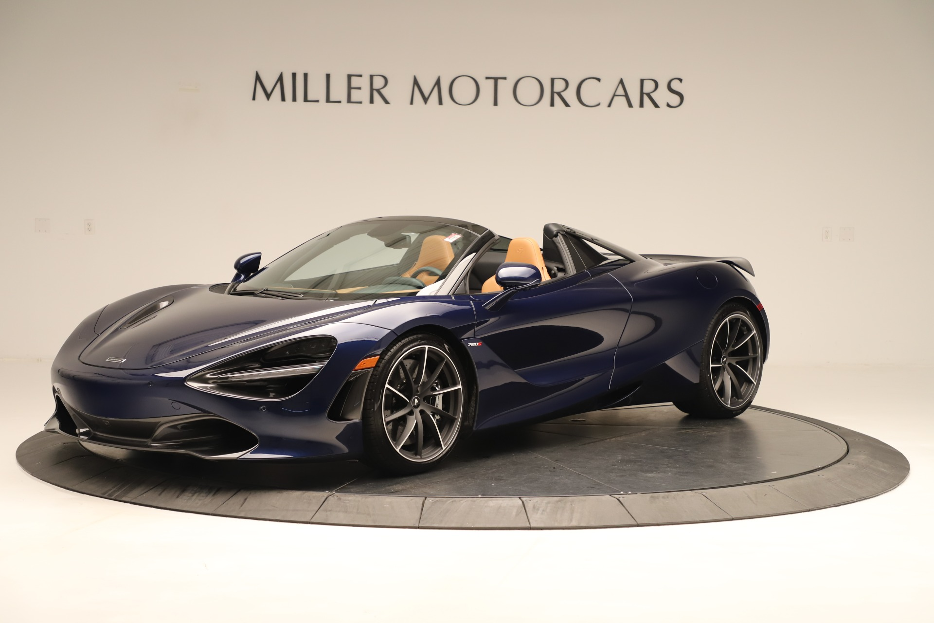 New 2020 McLaren 720S Spider Convertible for sale $372,250 at Bugatti of Greenwich in Greenwich CT 06830 1