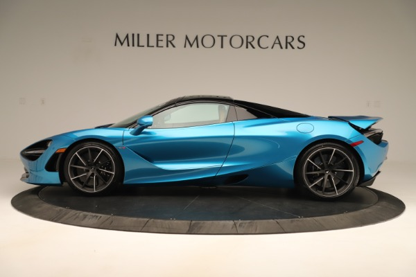 New 2020 McLaren 720S SPIDER Convertible for sale Sold at Bugatti of Greenwich in Greenwich CT 06830 3