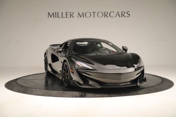 New 2019 McLaren 600LT Coupe for sale $278,790 at Bugatti of Greenwich in Greenwich CT 06830 10