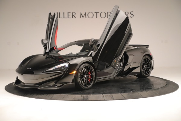 Used 2019 McLaren 600LT Luxury for sale Call for price at Bugatti of Greenwich in Greenwich CT 06830 13