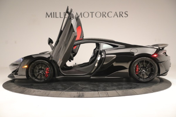 New 2019 McLaren 600LT Coupe for sale $278,790 at Bugatti of Greenwich in Greenwich CT 06830 14