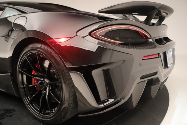 New 2019 McLaren 600LT Coupe for sale $278,790 at Bugatti of Greenwich in Greenwich CT 06830 17