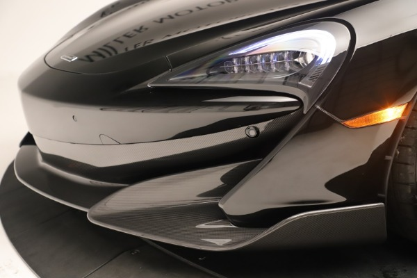 New 2019 McLaren 600LT Coupe for sale $278,790 at Bugatti of Greenwich in Greenwich CT 06830 19