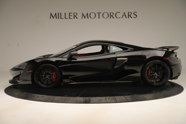 New 2019 McLaren 600LT Coupe for sale $278,790 at Bugatti of Greenwich in Greenwich CT 06830 2