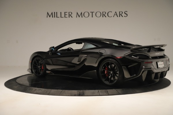 New 2019 McLaren 600LT Coupe for sale $278,790 at Bugatti of Greenwich in Greenwich CT 06830 3