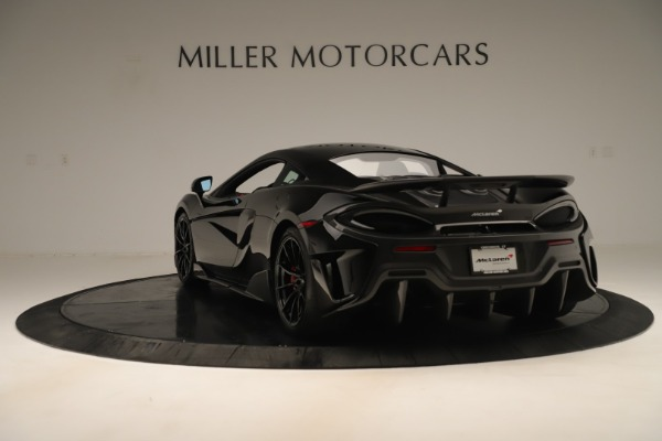 New 2019 McLaren 600LT Coupe for sale $278,790 at Bugatti of Greenwich in Greenwich CT 06830 4