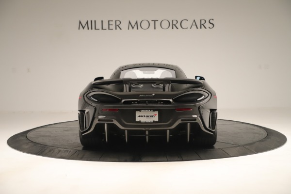 New 2019 McLaren 600LT Coupe for sale $278,790 at Bugatti of Greenwich in Greenwich CT 06830 5