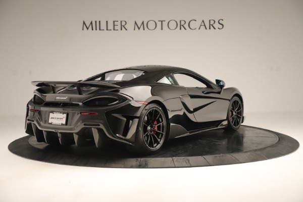 New 2019 McLaren 600LT Coupe for sale $278,790 at Bugatti of Greenwich in Greenwich CT 06830 6