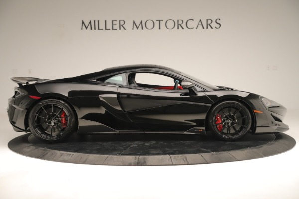 New 2019 McLaren 600LT Coupe for sale $278,790 at Bugatti of Greenwich in Greenwich CT 06830 8