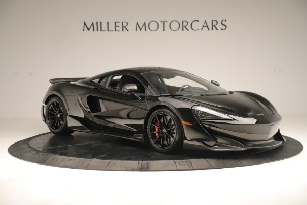 New 2019 McLaren 600LT Coupe for sale $278,790 at Bugatti of Greenwich in Greenwich CT 06830 9