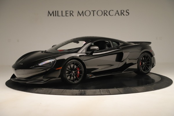 New 2019 McLaren 600LT Coupe for sale $278,790 at Bugatti of Greenwich in Greenwich CT 06830 1