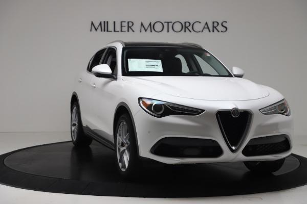 New 2019 Alfa Romeo Stelvio Ti Lusso Q4 for sale Sold at Bugatti of Greenwich in Greenwich CT 06830 11