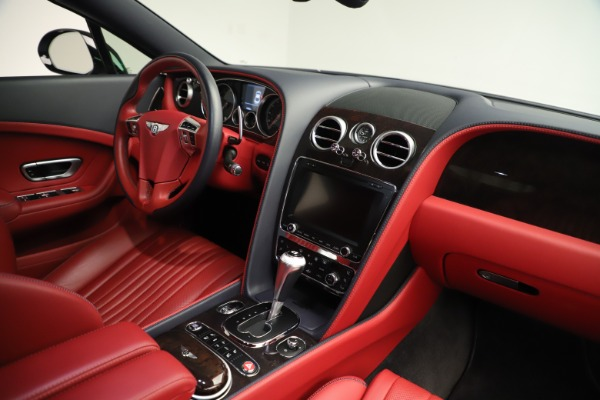 Used 2016 Bentley Continental GT V8 S for sale Sold at Bugatti of Greenwich in Greenwich CT 06830 28