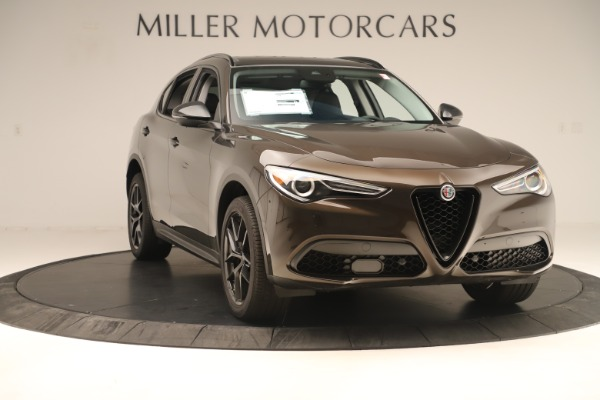 New 2019 Alfa Romeo Stelvio Ti Q4 for sale Sold at Bugatti of Greenwich in Greenwich CT 06830 11