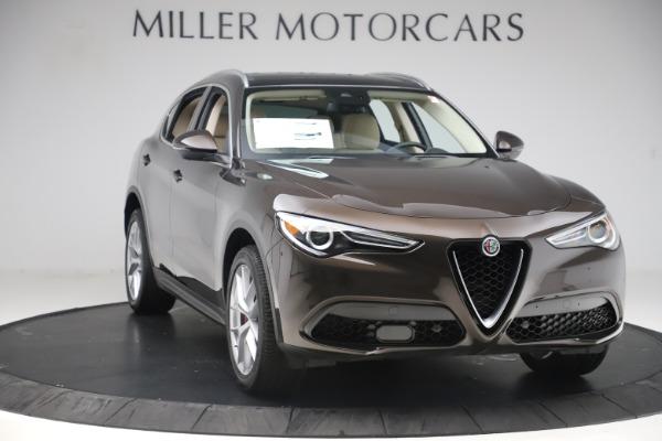 New 2019 Alfa Romeo Stelvio Ti Lusso Q4 for sale $54,790 at Bugatti of Greenwich in Greenwich CT 06830 11