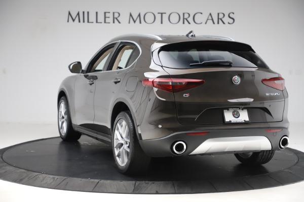 New 2019 Alfa Romeo Stelvio Ti Lusso Q4 for sale $54,790 at Bugatti of Greenwich in Greenwich CT 06830 5