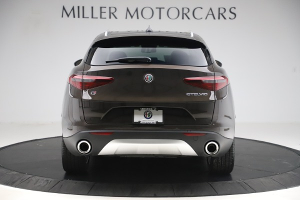 New 2019 Alfa Romeo Stelvio Ti Lusso Q4 for sale $54,790 at Bugatti of Greenwich in Greenwich CT 06830 6