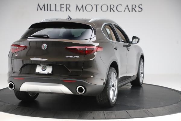 New 2019 Alfa Romeo Stelvio Ti Lusso Q4 for sale $54,790 at Bugatti of Greenwich in Greenwich CT 06830 7