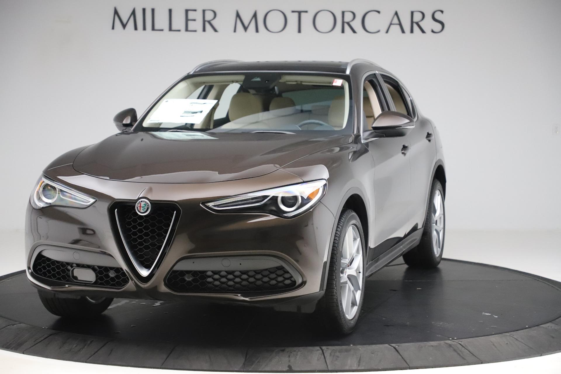 New 2019 Alfa Romeo Stelvio Ti Lusso Q4 for sale $54,790 at Bugatti of Greenwich in Greenwich CT 06830 1