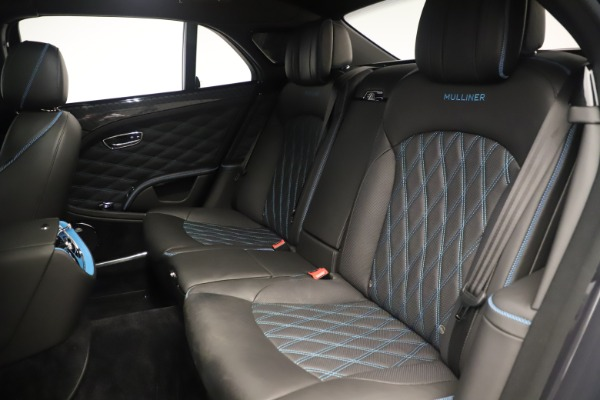 Used 2018 Bentley Mulsanne Speed Design Series for sale Sold at Bugatti of Greenwich in Greenwich CT 06830 25