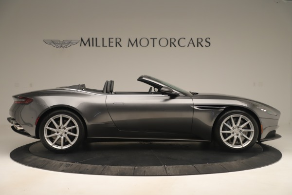 Used 2020 Aston Martin DB11 V8 for sale Sold at Bugatti of Greenwich in Greenwich CT 06830 9