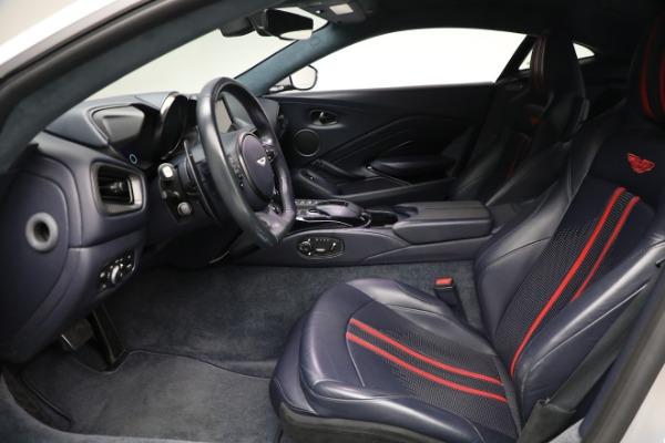 New 2020 Aston Martin Vantage Coupe for sale $207,072 at Bugatti of Greenwich in Greenwich CT 06830 14
