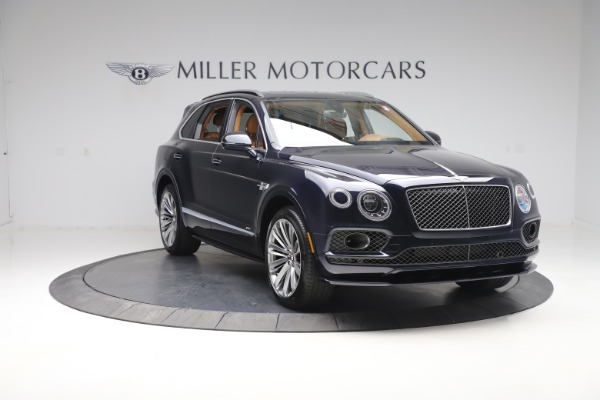 New 2020 Bentley Bentayga Speed for sale Sold at Bugatti of Greenwich in Greenwich CT 06830 11