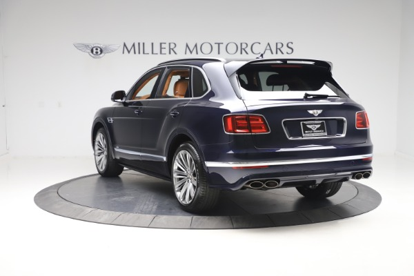 New 2020 Bentley Bentayga Speed for sale Sold at Bugatti of Greenwich in Greenwich CT 06830 5