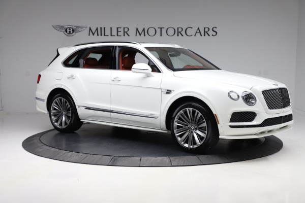 New 2020 Bentley Bentayga Speed for sale $244,145 at Bugatti of Greenwich in Greenwich CT 06830 10