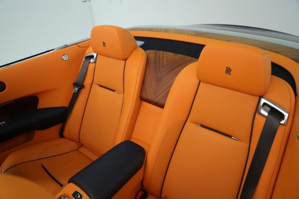 Used 2016 Rolls-Royce Dawn for sale Sold at Bugatti of Greenwich in Greenwich CT 06830 27