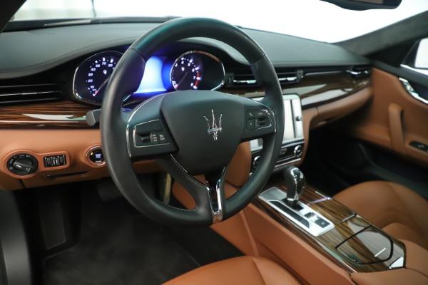 Used 2014 Maserati Quattroporte S Q4 for sale Sold at Bugatti of Greenwich in Greenwich CT 06830 13
