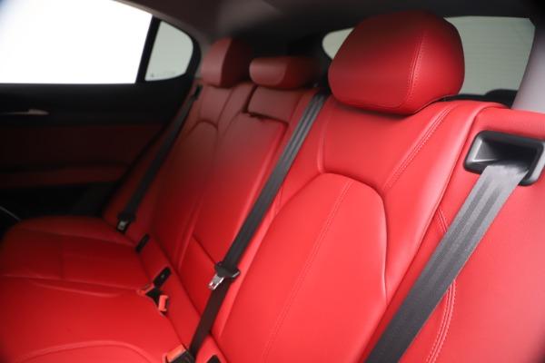New 2019 Alfa Romeo Stelvio Ti Q4 for sale Sold at Bugatti of Greenwich in Greenwich CT 06830 18